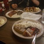 Just one of our meals. My favorite so far is the strawberry crepes. Yummy yummy
