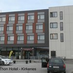 Front of the Thon Hotel Kirkenes