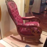 Lincoln's chair from the Ford Theater