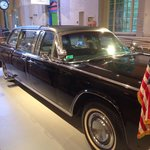The limo Pres. Kennedy was riding in when he was assassinated