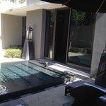 Garden Suite Villa courtyard