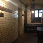 Entering the Victorian restroom