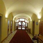 The main floor hallway.