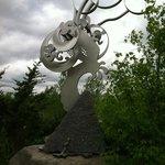sculptures, wind