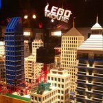 Buildings from the Lego movie