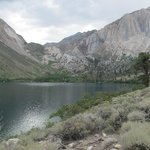 Convict Lake and mountains