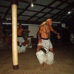 Meke dance performed by the Coralview workers after dinner - Awesome!