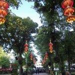 Tivoli Gardens dusk