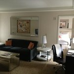 living room in suite