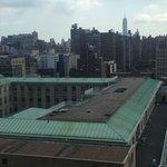Utsikt från rummet på 15:e våningen