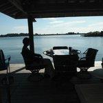 Black Dolphin Inn - Private dock