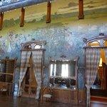 La salle décorée Art nouveau