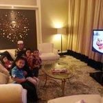 Celebrity suite...