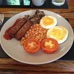 Full Vegetarian Breakfast