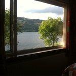 Camera con vista lago.