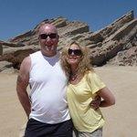 Mr and Mrs W at Vasquez Rocks