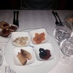 complimentary appetisers