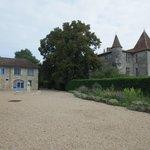 View of the Chateau De Panisseau