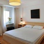 Schlafzimmer in der Wohnung Lüle1