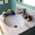 Badezimmer in der Wohnung Pierre Lotti