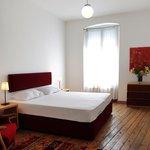 Schlafzimmer in der Wohnung Hagia Sofia