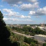 View of Cork from Bedroom Window