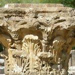 Detail of Corinthian column