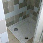 douche avec tapis