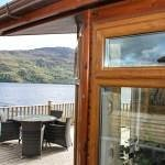 Wonderful loch-side lodges