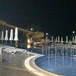 Zwembad s'avonds