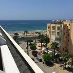 Uitzicht vanaf de hotel kamer