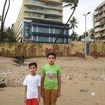 Hotel sea princess from Juhu beach side