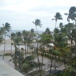 Juhu beach from Hotel room