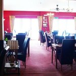 The Queens Head, Finghall restaurant
