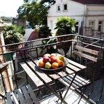 Balkon der Wohnung Lüle2