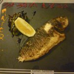 Delicious sea bream