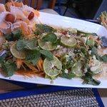 Fisch mit Limette und Chili