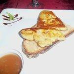 Fois gras fritto