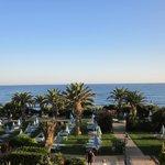 Les jardins vue mer
