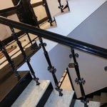 The railings