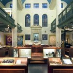 The exhibition Religion is in one of the old synagogues in the building