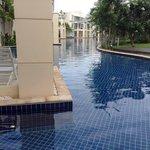 Fantastic lagoon pool