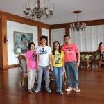 Group pics inside the Malacanang.....