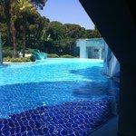 une des nombreuses piscines ...