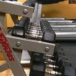 Free Weights in our Fitness Center