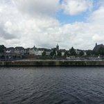 Veduta del Sint Servaas Bridge a sinistra