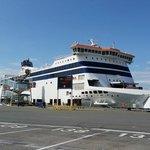 At Calais Port.