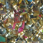 The bidge of locks..