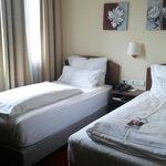 Doppelzimmer mit zwein Einzelbetten