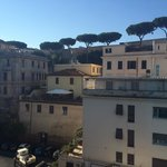 Vatican walls, view from window
